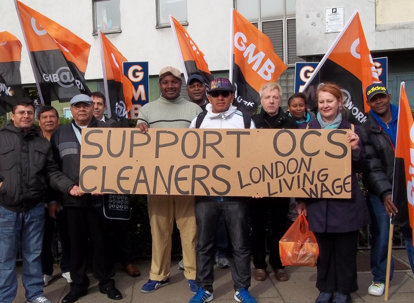 Support OCS cleaners, LLW