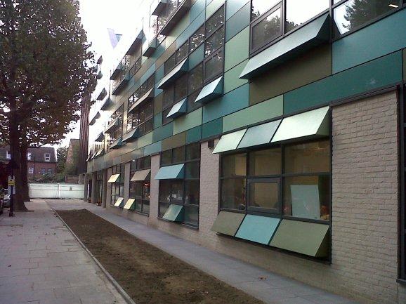 Kensington Academy on opening day 15 September 2014