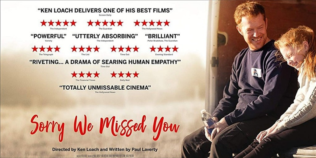 Fundraising Screening 'Sorry We Missed You' plus Q&A with Rebecca ...